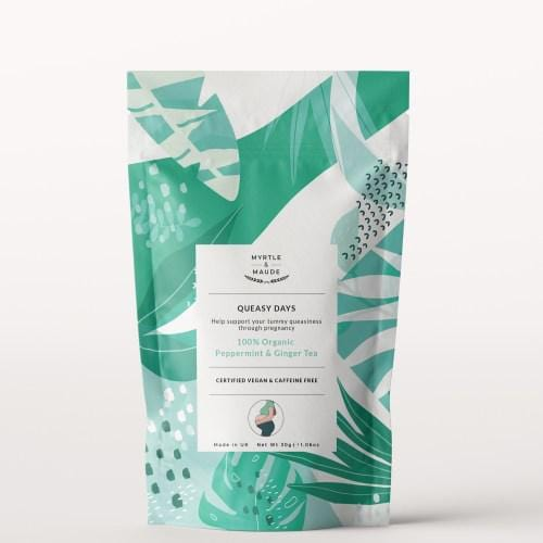 Myrtle & Maude, Anti-Morning Sickness Organic Herbal Tea - Bygge Bo