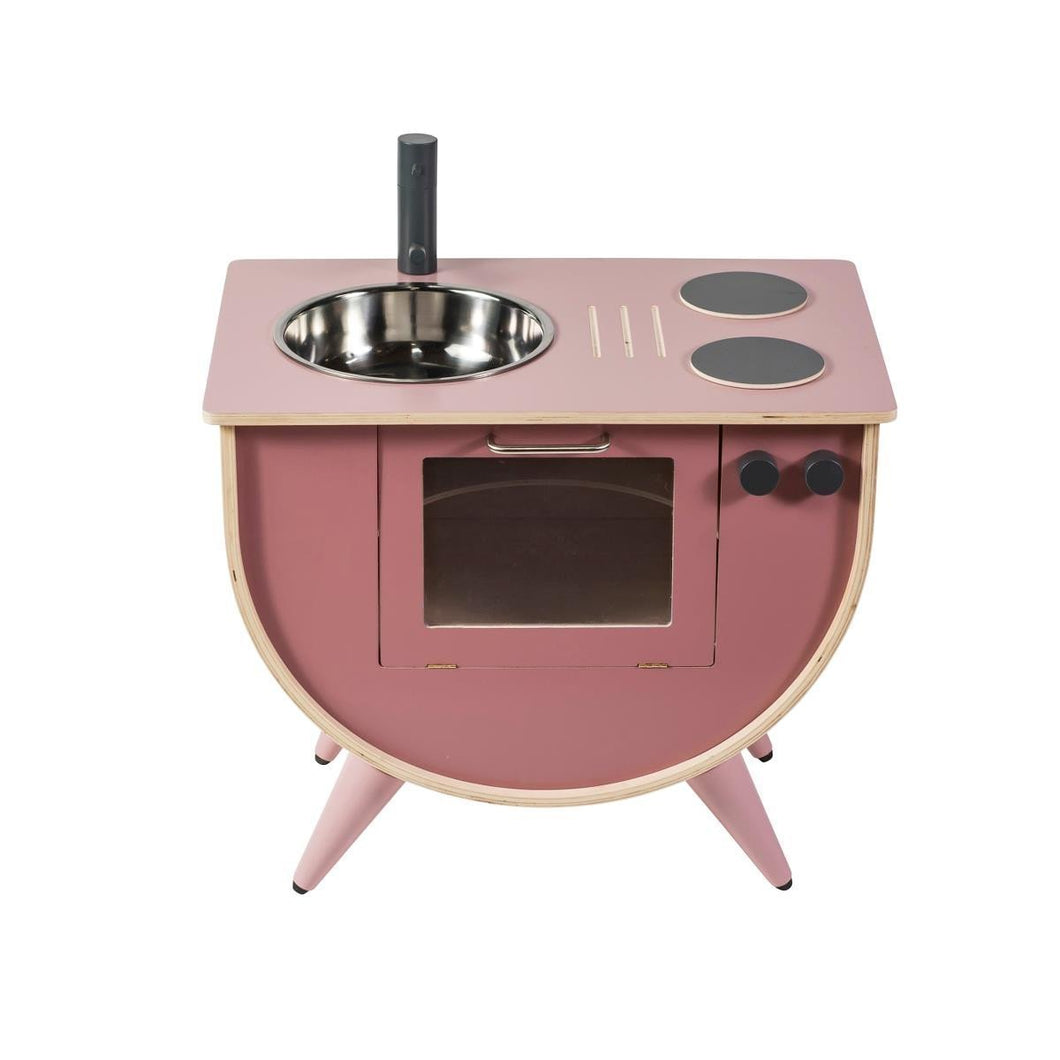 Sebra, Wooden Play Kitchen - Bygge Bo