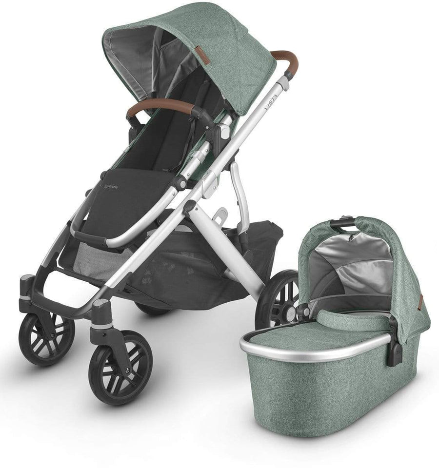 Uppababy, Vista V2 2020 Travel Bundle w/ Cloud Z