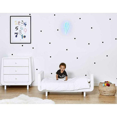SnüZkot Mode Cot Bed White
