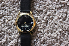 LynOetry Round Gold Metal Watch