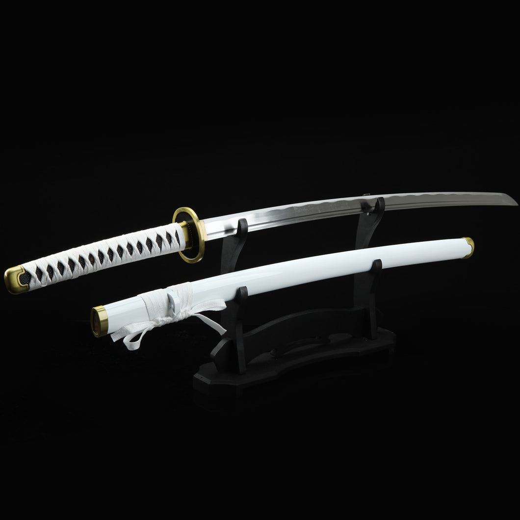 Full Hand Forged Katana 1045 Carbon Steel Cosplay One Piece Roronoa Zoro Replica