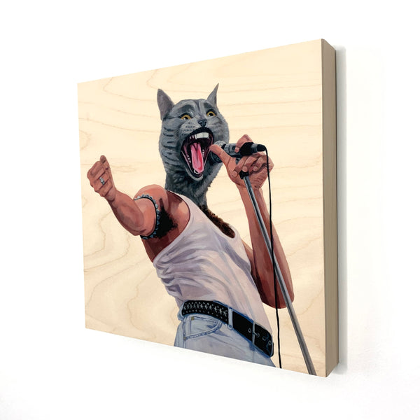 I Want To Break Free - Wood Print