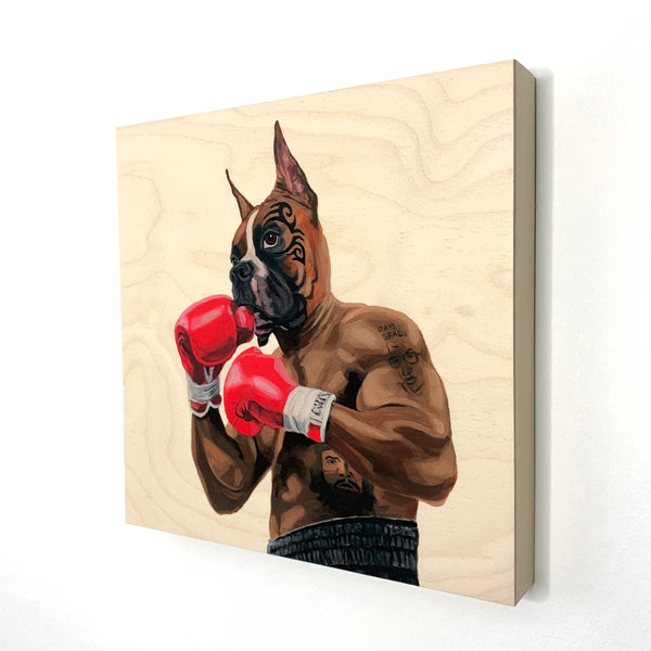 My Style Is Impetuous, My Defense Is Impregnable - Wood Print