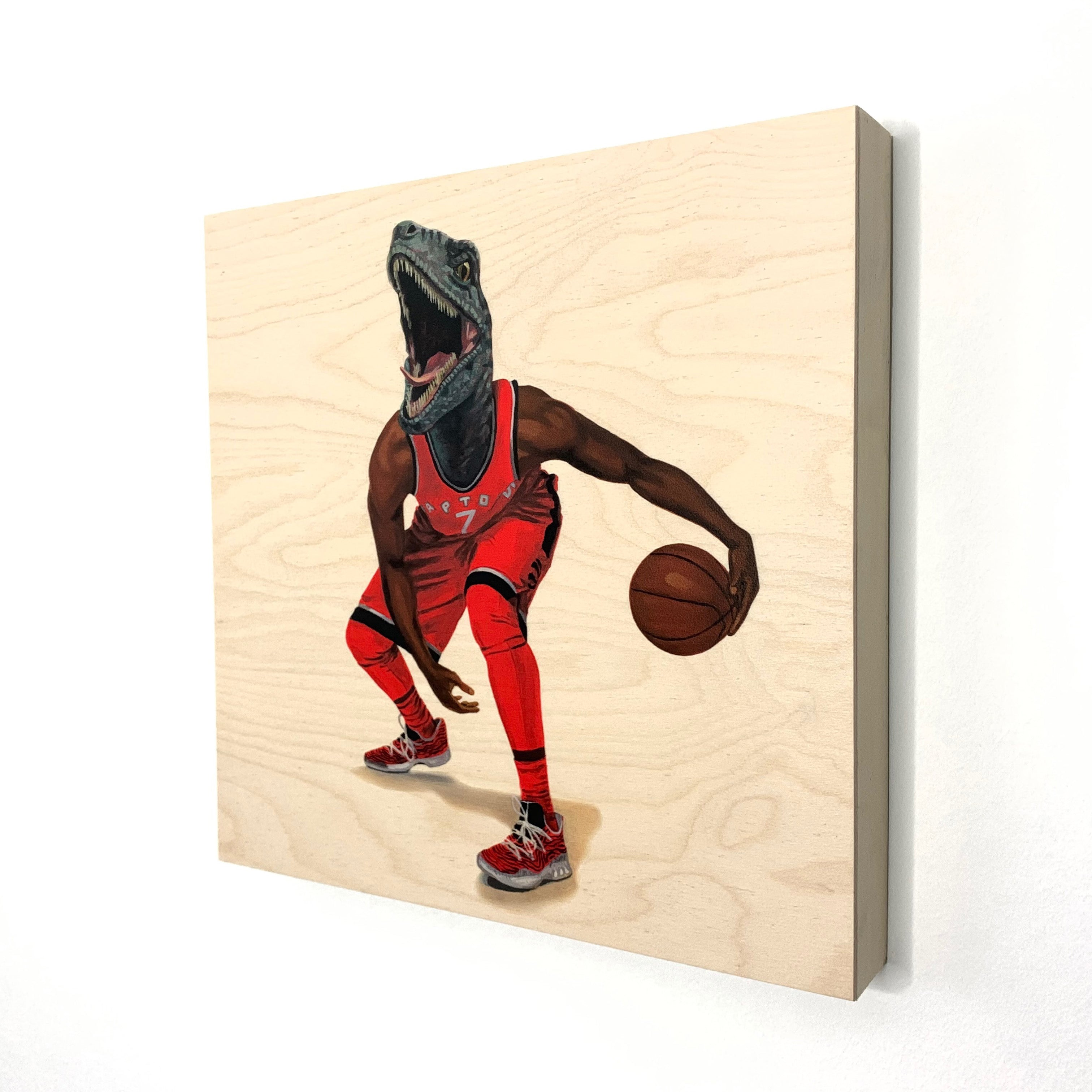 We Brought It Home Baby! - Wood Print