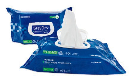 "Personal Wipe StayDry® 8""x 12"",  Soft Pack Aloe / Vitamin E Scented, 600/cs"