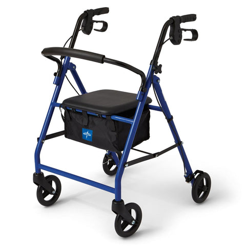 Basic Steel Rollator (Blue)