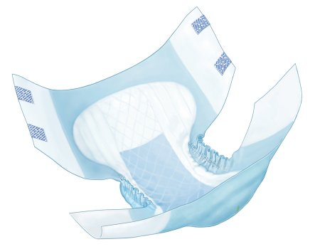Adult Incontinent Brief Wings™ Tab Closure  Disposable Heavy Absorbency
