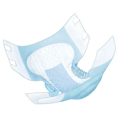 Adult Incontinent Brief Wings™ Tab Closure Disposable Heavy Absorbency (Overnight)