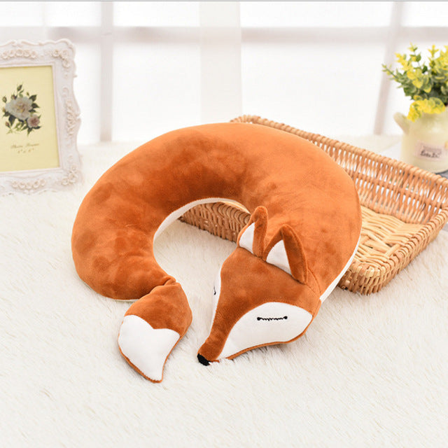 Fox Neck Pillow
