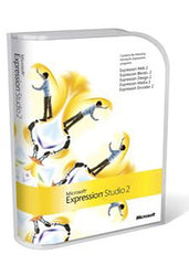 Microsoft Expression Studio 2 Mac/Win English DVD