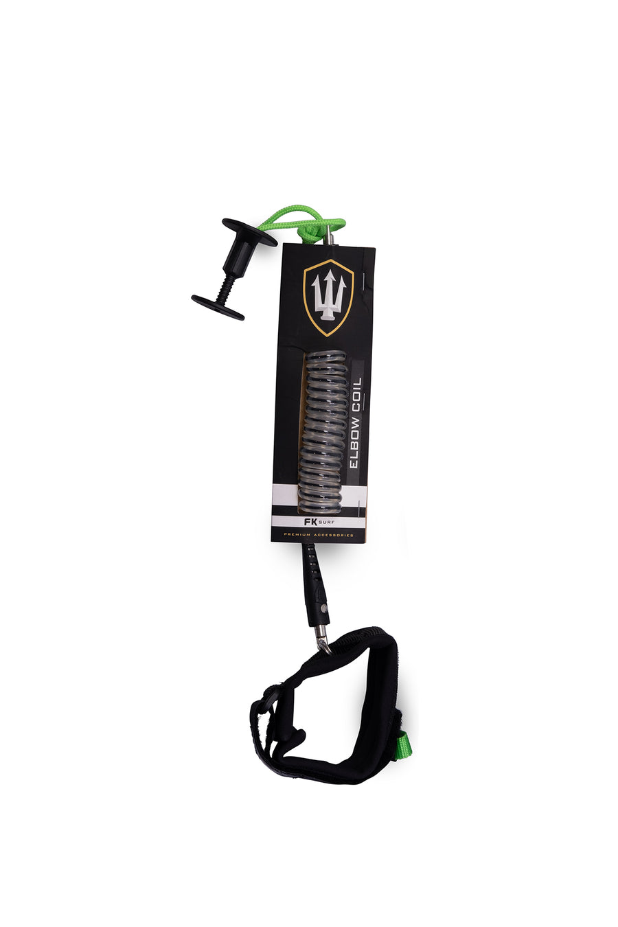 FK Elbow Coil Bodyboard Leash