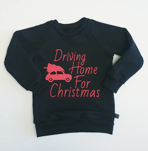 Driving Home For Christmas Jumper