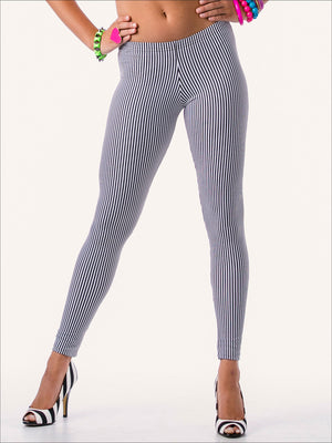 Micro Striped Legging