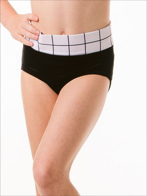 Tick-Tock High Waist Brief