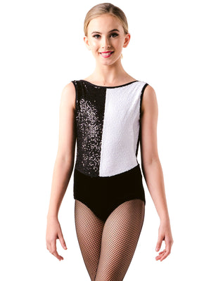 Color Block Leotard