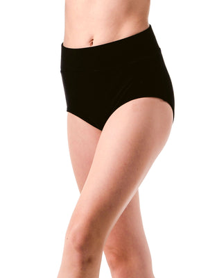 Basic Velvet High Waist Brief