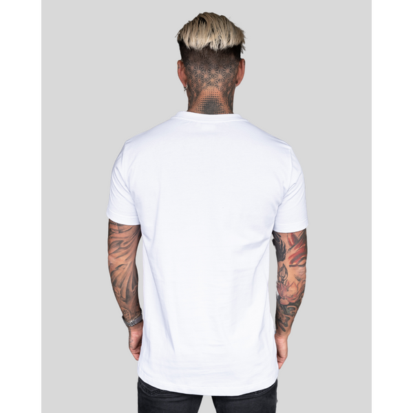 REVIVE VARSITY WHITE TEE
