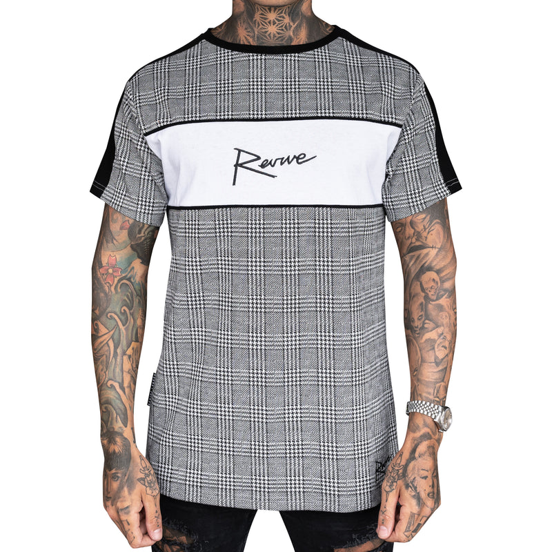 REVIVE MILANO PLAID TEE