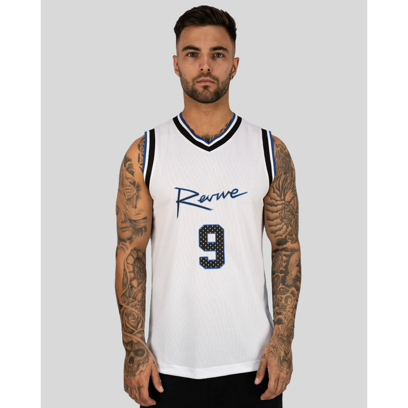 REVIVE 9 JERSEY WHITE