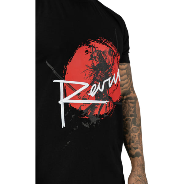 REVIVE WARRIOR BLACK TEE