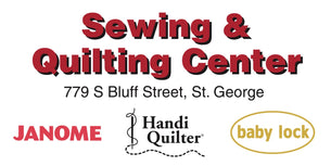 Sewing & Quilting Center St. George Utah - Sewing, Embroidery and Quilting Machines from Handi Quilter, Janome and Baby Lock