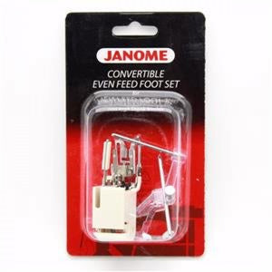 Janome Convertible Even Feed Foot Set For 9mm Max Stitch Width