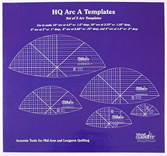 Handi Quilter Arc A Templates