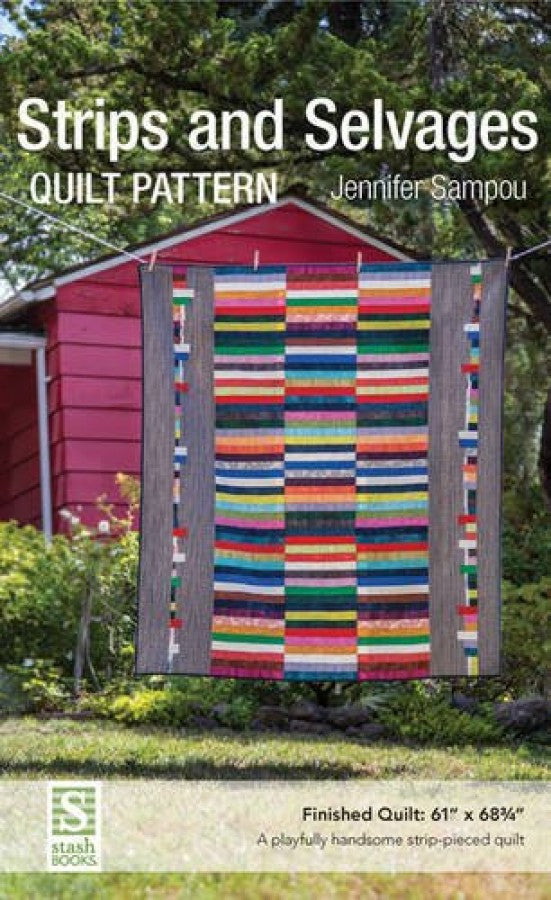 Stripes and Selvages Quilt Pattern