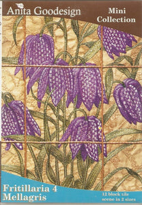 Anita Goodesign Fritillaria 4 Mellagris Mini Collection Pattern