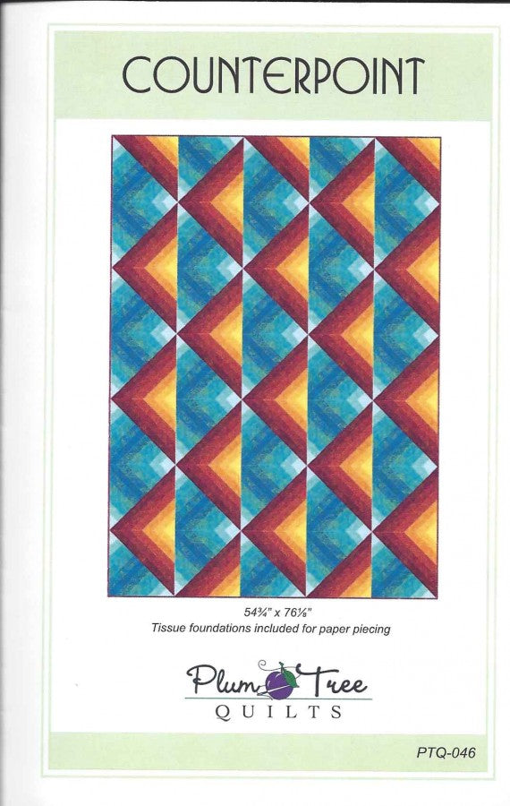 Plum Tree Quilts Counterpoint Pattern