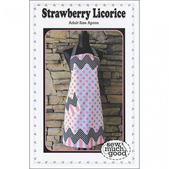 Sew Much Good Strawberry Licorice Apron Pattern