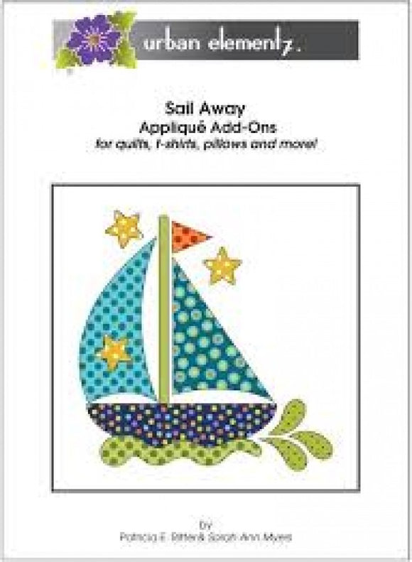 Applique Elementz Sail Away Applique Pattern