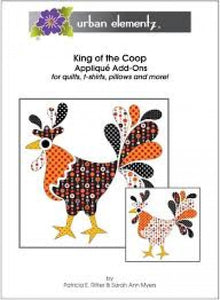 Applique Elementz King of the Coop Applique Pattern