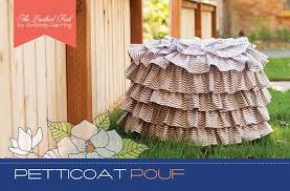 The Quilted Fish Petticoat Pouf