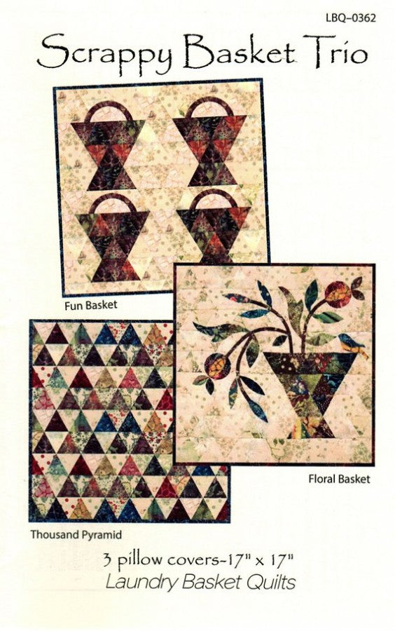 Laundry Baskets Quilts Scrappy Basket Trip Quilt Pattern