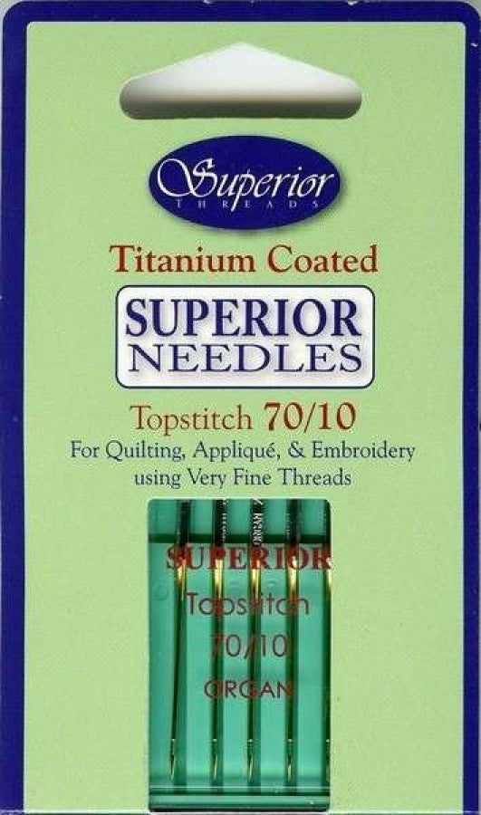 Superior Threads Topstitch Needles 70/10