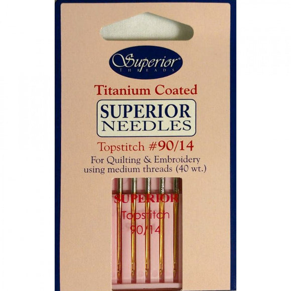 Superior Threads Topstitch Needles 90/14