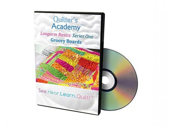 Quilter's Academy Longarm Basics: Series One Groovy Boards DVD