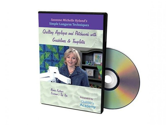 Quilting Academy Quilting & Applique With Guidelines and Templates DVD