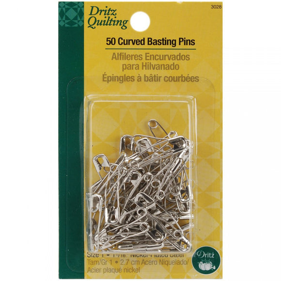 Dritz Curved Basting Pins