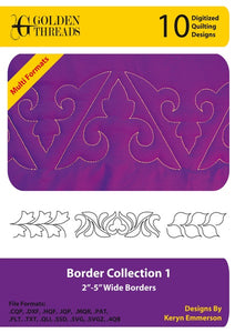 Golden Threads Border Collection 1
