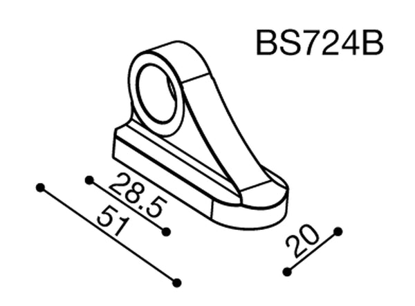 RIZOMA MIRROR ADAPTER BS724B