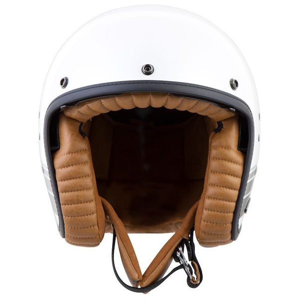 Scorpion Belfast Blanco Helmet WOMENS