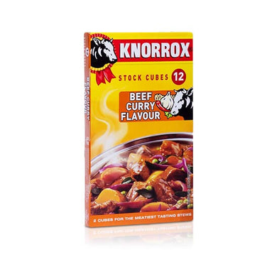 Knorrox Beef Curry Stock 12 Cubes - the-squire-online