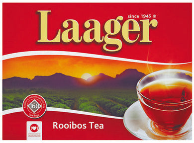 Laager Rooibos Tagless Teabags 160 - the-squire-online