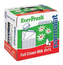 Parmalat Everfresh Full Cream Long Life Milk 1L x 6 - the-squire-online