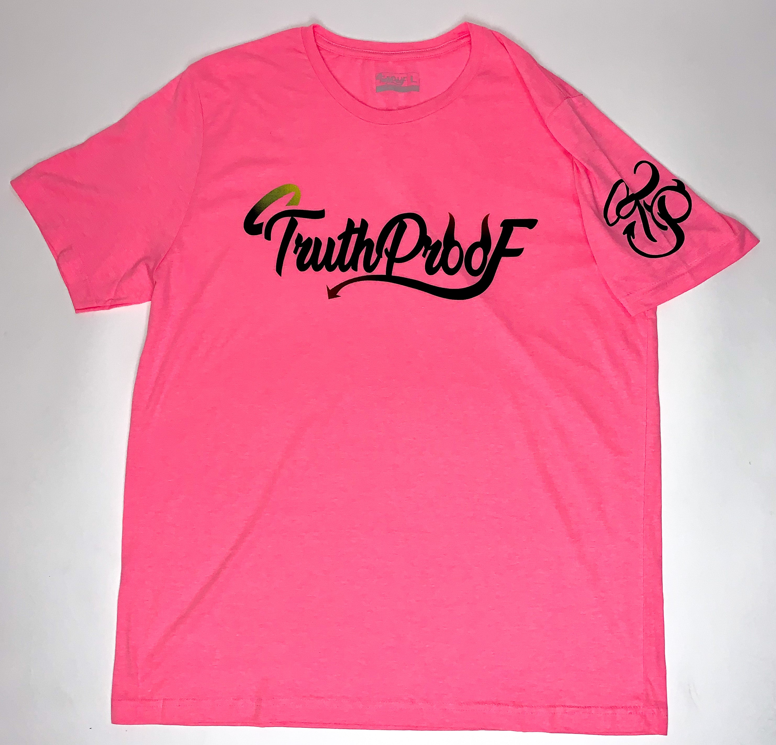 TruthProof Classic Neon Pink Unisex solid color Premium T-shirt