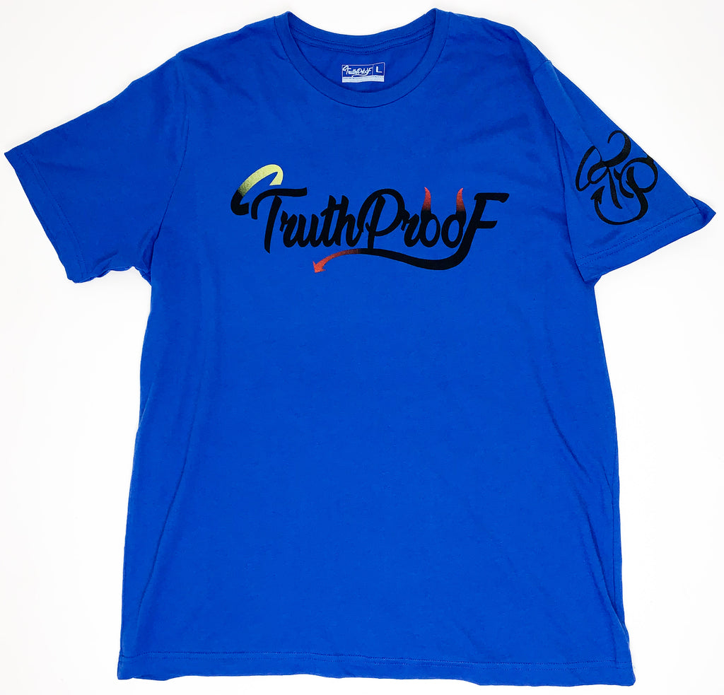 TruthProof Classic Royal Blue Unisex solid color Premium T-shirt