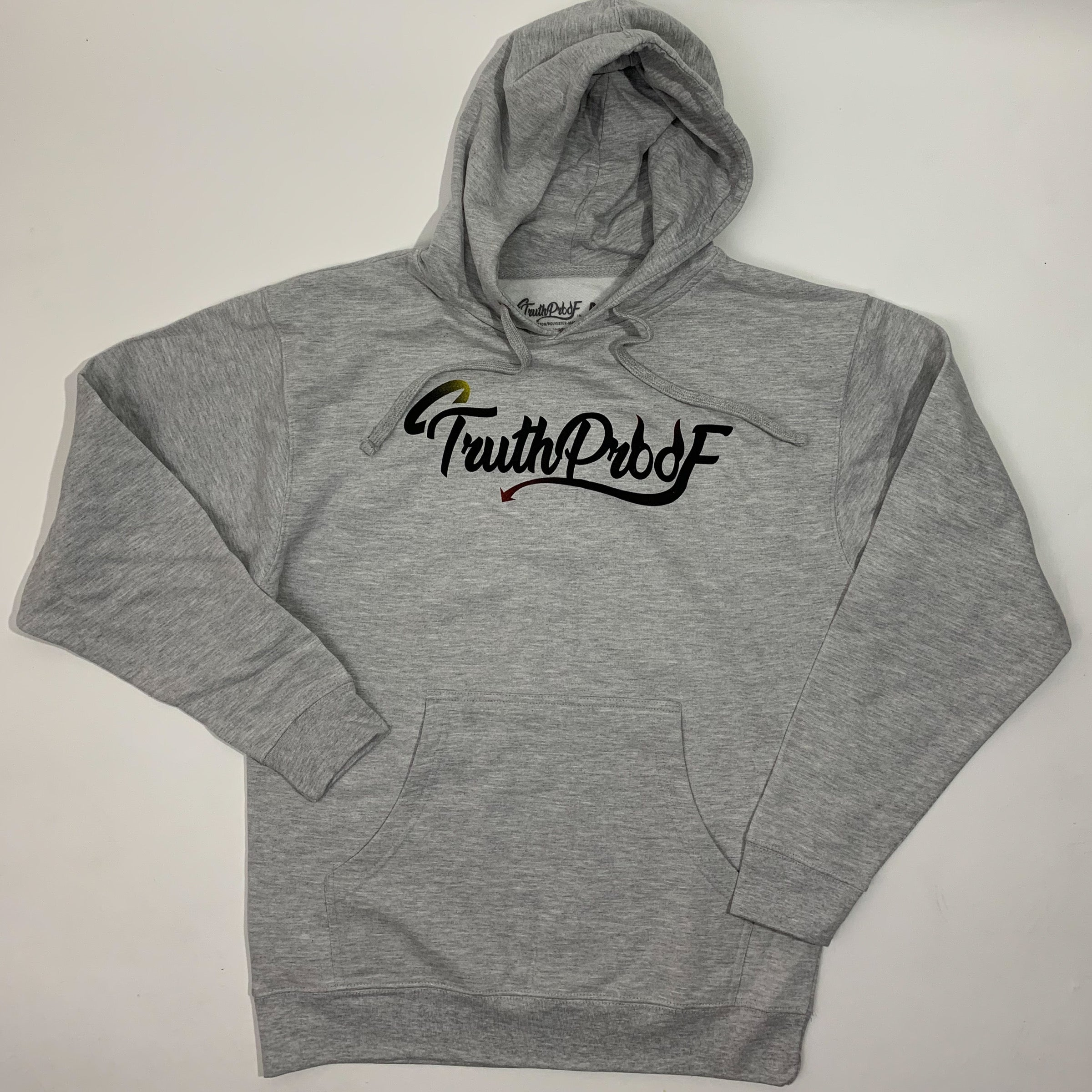 TruthProof Classic Grey Heather Midweight Hoodie